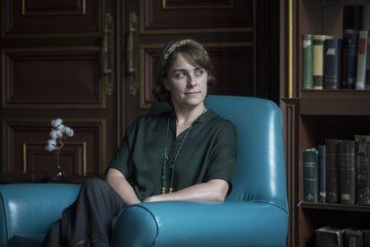 La escritora Sara Mesa, en Barcelona.