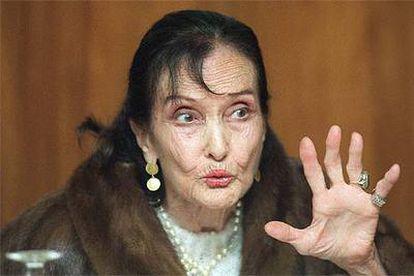 Antoñita Colomé, en una imagen de 1997.