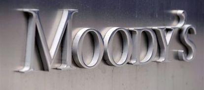 El logo de la agencia de medición de riesgos Moody's