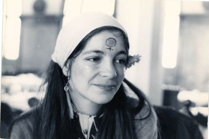 La poeta Maria-Mercè Marçal.