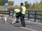 Da positivo en alcohol y drogas la conductora que ha arrollado a ciclistas