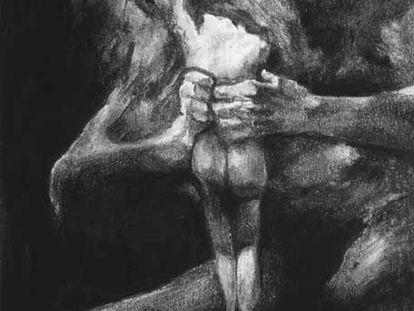 Saturno devorando a su hijo (1819), obra del pintor español Francisco de Goya.