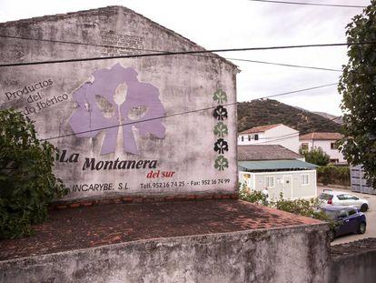 Vista de las instalaciones de la empresa Incarybe S.L., de Benaojan (Malaga).