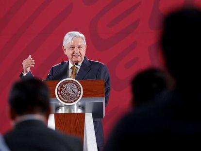 López Obrador el pasado jueves.