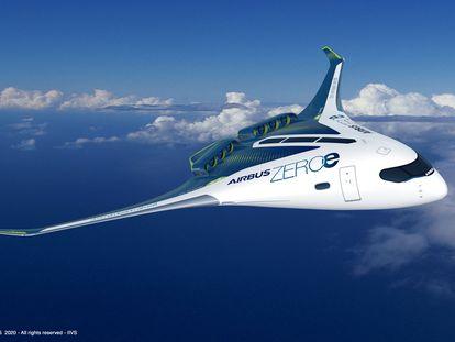 Airbus presenta sus primeros aviones impulsados por hidrógeno para 2035