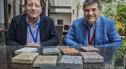 Javier Martón (izquierda) y Víctor Moracho.