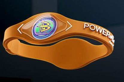 La pulsera Power Balance promete efectos milagrosos.