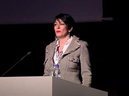 Ghislaine Maxwell, en una imagen de 2013, en Islandia.