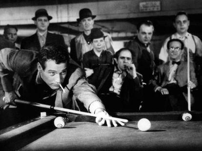 Paul Newman, en un instante de 'El Buscavidas'.