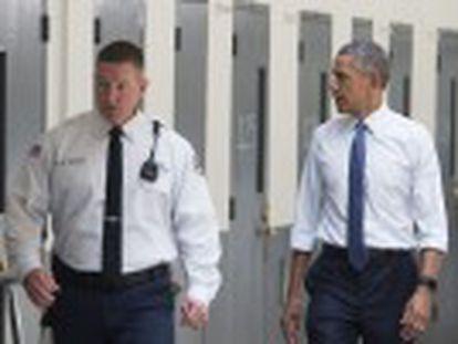 El presidente visita una prisión en Oklahoma y lanza un intento de reforma de las condenas desproporcionadas por narcotráfico