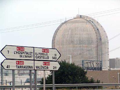 La central nuclear Vandellòs II, en Tarragona.