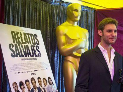 El director Damián Szifron, en el teatro Dolby, en Hollywood, donde se celebrará la ceremonia de los Oscar.