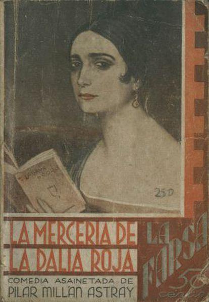 Pilar Millán Astray, pintada por Julio Romero de Torres.