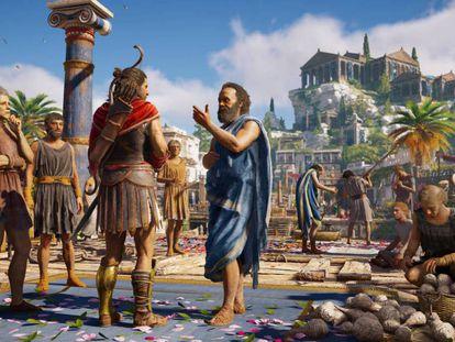 E3 2018 - Y de repente… Sócrates. Y el Robin de Batman
