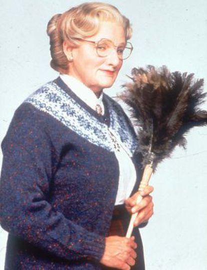 Williams en 'Señora Doubtfire' (1993).