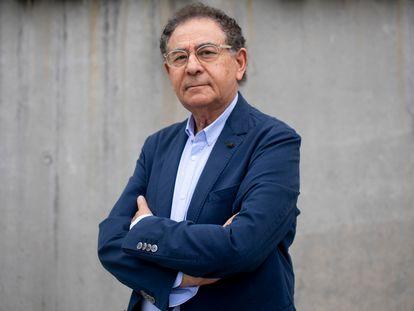 Roberto Verino, el pasado jueves, en las instalaciones de la firma en Ourense.