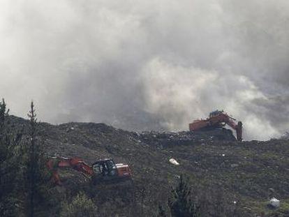 El desprendimiento de toneladas de residuos en Zaldibar, que causó dos víctimas, provoca indignación
