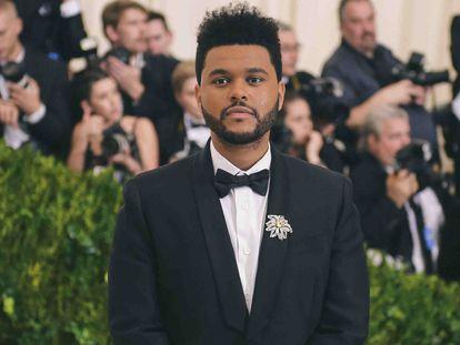 The Weeknd, en la Gala del Met en Nueva York en 2017.