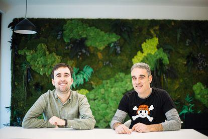 Álvaro Verdoy e Iban Borràs, fundadores de Sales Layer