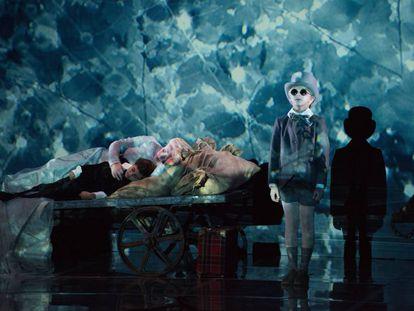 Un momento de 'Sueño de una noche de verano', de Britten, dirigida y diseñada por Netia Jones en el festival de Aldeburgh.
