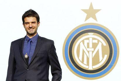 Stramaccioni, en día de su presentación con el Inter.