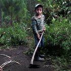 04/03/21. (DVD 1043) Oscar Tut, un niño huerfano que vuve con su tia Rosario en Alta Verapaz, Guatemala.Jaime Villanueva.