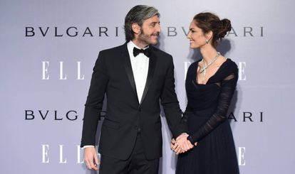 Eugenia Silva y Alfonso de Borbón en la celebración del 40 cumpleaños de ella en 2016.