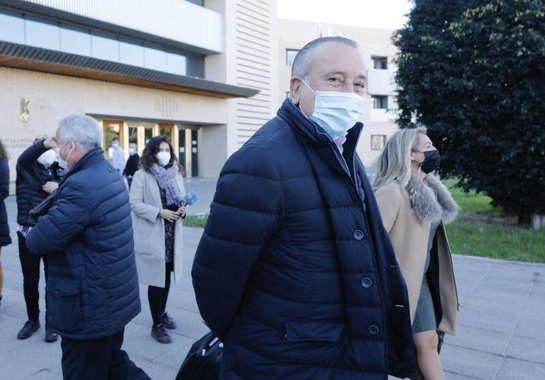 Fernando Roig, en el juzgado este martes.