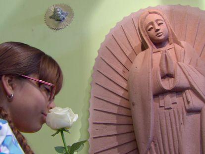 Una imagen de la telenovela 'La rosa de Guadalupe'.