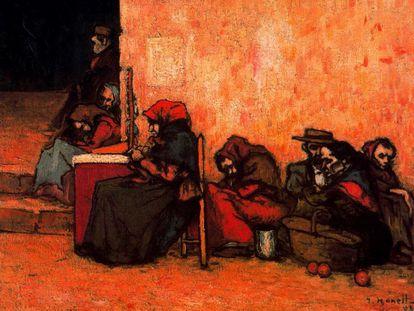 'Pobres esperando la sopa' (1899), de Isidre Nonell.