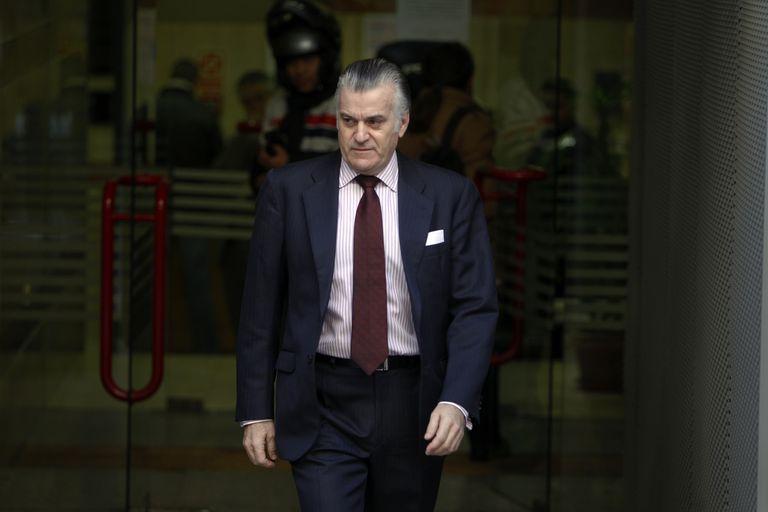 Luis Bárcenas, en una imagen de 2013, al principio de la investigación del juez Pablo Ruz.