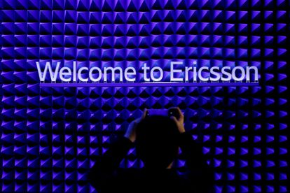 Stand de Ericsson en el Mobile World Congress de Barcelona de 2019.