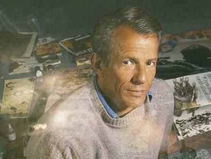 Peter Beard retratado en Nueva York, en 1995.