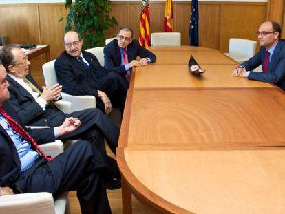 Los rectores de la Universidad de Alicante