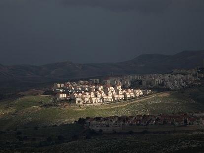 El asentamiento israelí de Maalé Adumim, en Cisjordania, el pasado febrero.