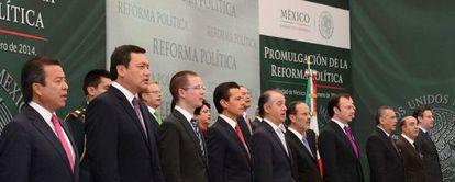 Acto de promulgación de la reforma política