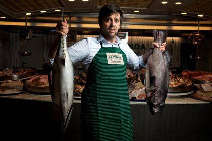 <B>DIEGO GARCÍA</B>. Al frente de Pescaderías Coruñesas, distribuye pescados y mariscos a restaurantes como DiverXO, Filandón, Albada, O Pazo y El Pescador.
