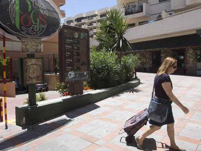 Imagen del bar de Fuengirola (Málaga).