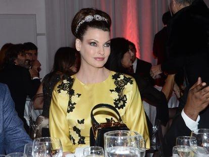 La modelo Linda Evangelista, en Roma en 2013.