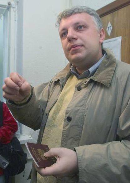 Pável Sheremet en Minsk en 2004.