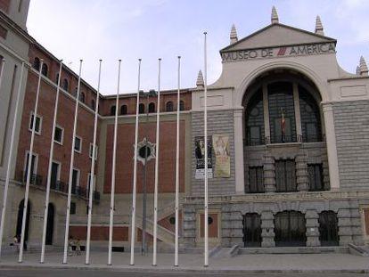El Museo de América, en Ciudad Universitaria.