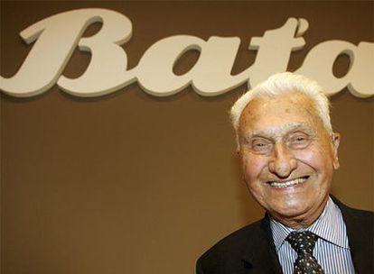 Tomas Bata, en una imagen de 2005.