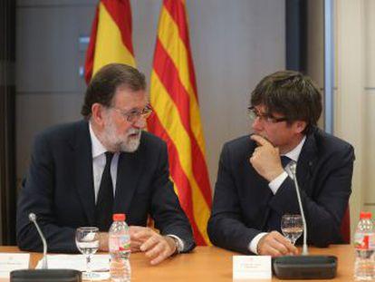 Los presidentes comparecen conjuntamente tras la reunión del comité de coordinación en Barcelona