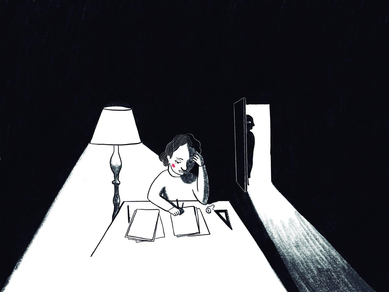 Una de las ilustraciones de la campaña #NoMoreMatildas. RODRIGO GARCÍA