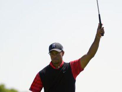 Woods, en un torneo en Orlando en marzo.