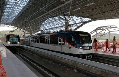 La línea 1 del Metro de Panamá recorre 13.6 kilómetros en 23 minutos