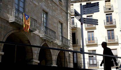 Imagen de archivo del Ayuntamiento de Manresa (Barcelona).
