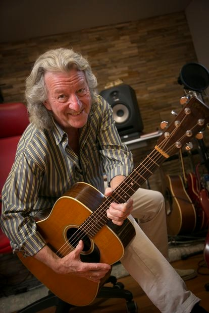 John Parsons, with his Spanish guitar.