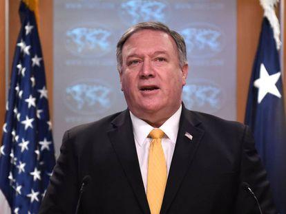 El secretario de Estado, Mike Pompeo.