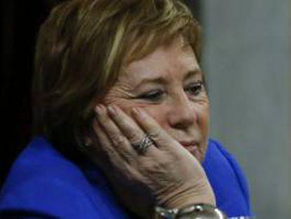 Celia Villalobos, del partido Popular.